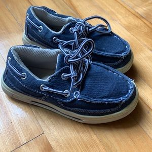 Navy Shoes Kids size 11